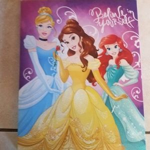 Disney Princess Print on Canvas